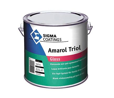 Alkidni emajl Sigma Amarol Triol Gloss