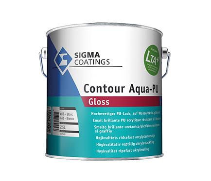 Emajl Sigma Contour Aqua PU Gloss