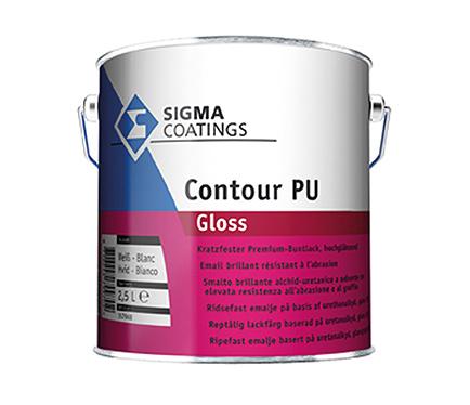 Emajl za les in kovino Sigma Contour PU Gloss