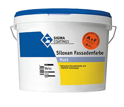 Fasadna barva Sigma Siloxan A+F