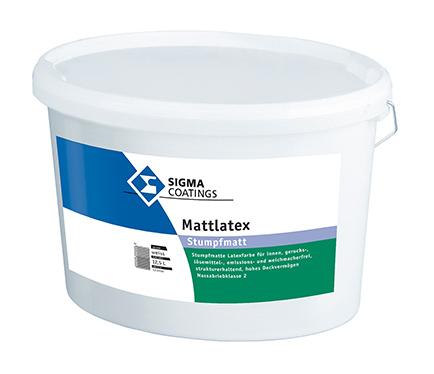 Notranja pralna barva Sigma Mattlatex
