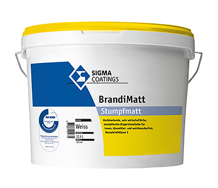 Notranja zidna barva Sigma Brandimatt