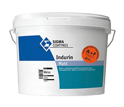 Vodoodporna fasadna barva Sigma Indurin A+F