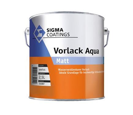 Vodotesni akrilni premaz za les in kovine Sigma Vorlack Aqua