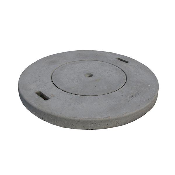 betonski pokrov gorec fi 100 s cistilno odprtino topdom