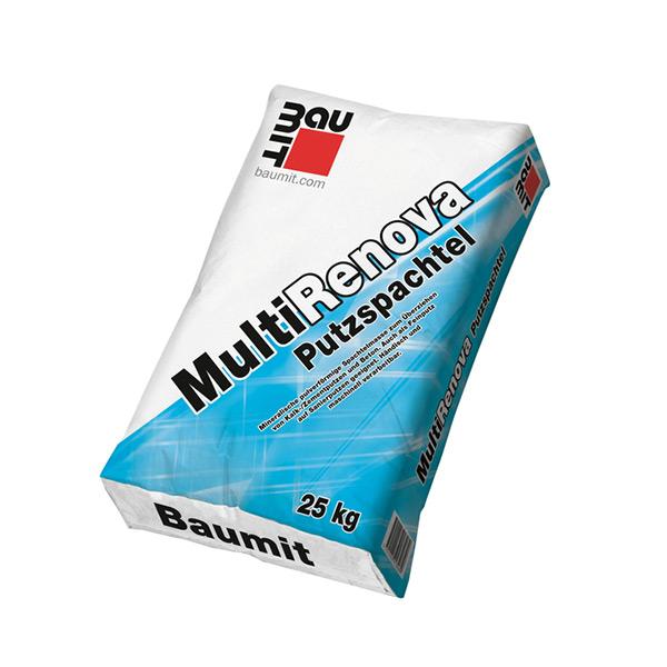IZRAVNALNI OMET BAUMIT MULTIRENOVA | PUTZSPACHTEL, 25 kg