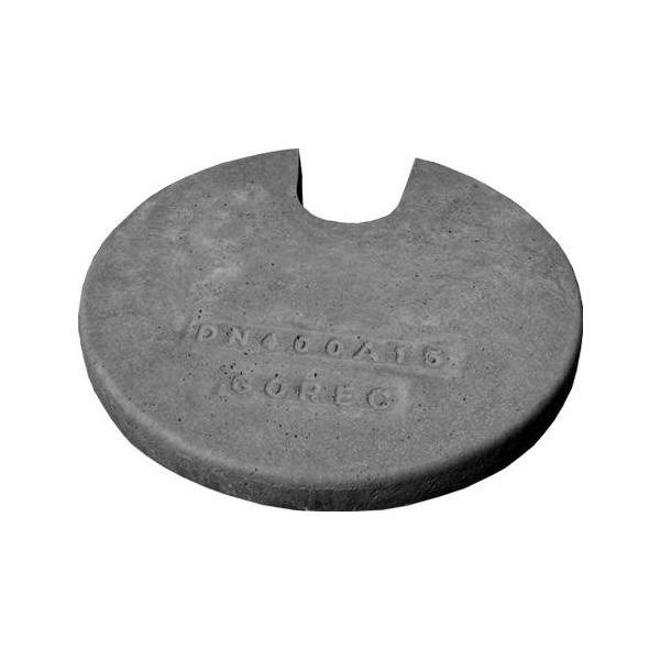 betonski pokrov z odprtino za zleb fi 40 topdom