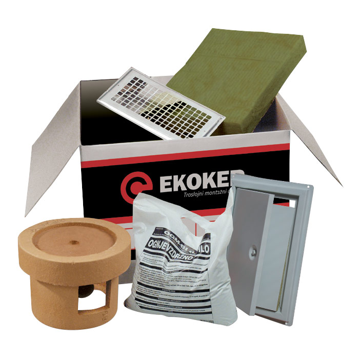 osnovni paket za dimnik ekoker ope ogm topdom