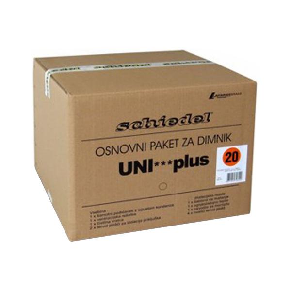 osnovni paket za dimnik schiedel uni plus topdom