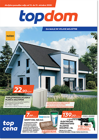 TOPDOM Akcijski katalog oktober 2020 ikona