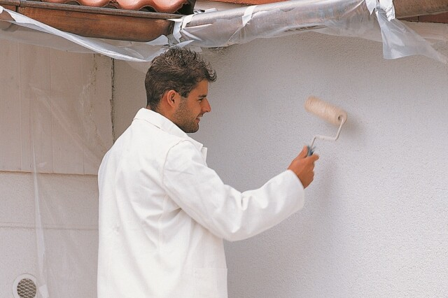 TOPDOM TRIUSO Pleskanje fasade uai