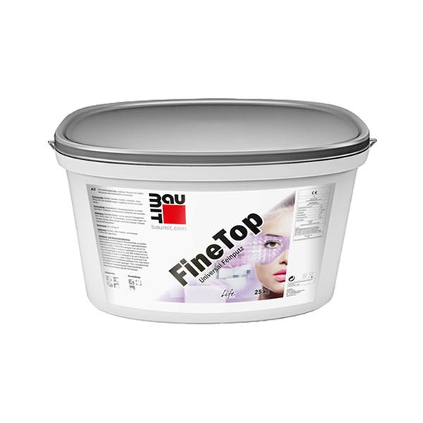 silikonski zakljucni omet baumit finetop topdom