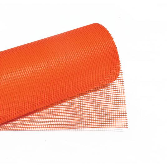 steklena fasadna tkanina oranzna topdom