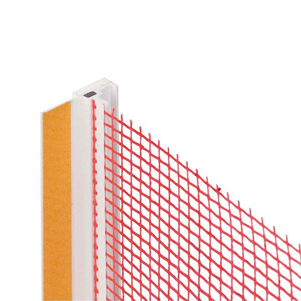 ZAKLJUČNA LETEV BAUMIT FENSTERANSCHLUSSPROFIL BASIC 12,5cm, 2,4m