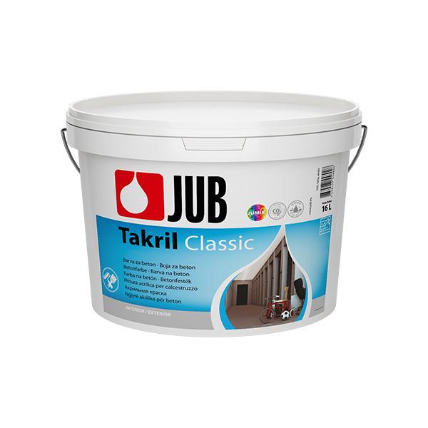 barva za beton jub takril bela1001 16l topdom