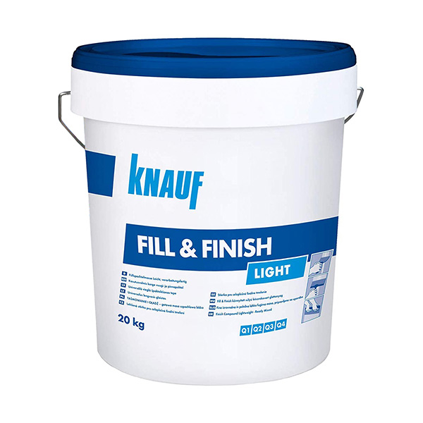 izravnalna masa knauf fill finish light topdom