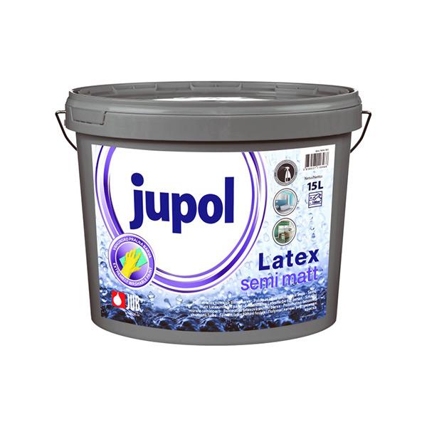 JUPOL LATEX SEMI MATT 15l NOTRANJA ZIDNA BARVA, JUB