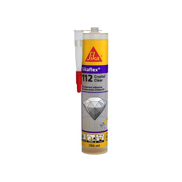 SIKAFLEX CRYSTAL CLEAR C239 290ml LEPILNO-TESNILNA MASA, SIKA