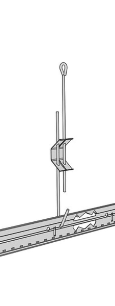 OBEŠALNIK ZANKA-KLJUKA AMF VENTATEC SoS ZA PROFIL 30-60cm