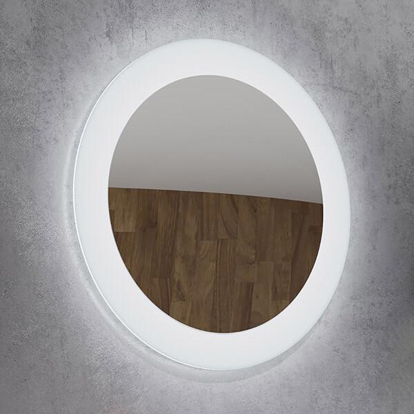 okroglo ogledalo z led osvetlitvijo spr201 topdom uai