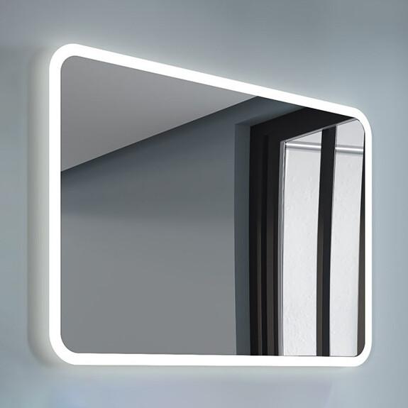 pravokotno ogledalo z led osvetlitvijo spr203 topdom uai