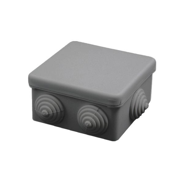 RAZVODNICA TEM RN01 86.5x86.5x44.5mm NADOMETNA SIVA TOPDOM 2