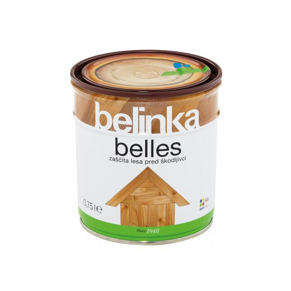 impregnacija za les belinka belles 075l topdom