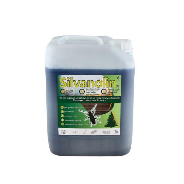 silvanolin 10kg impregnacijski premaz zeleni topdom