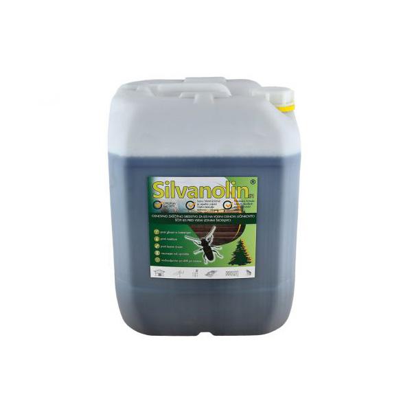 silvanolin 20kg impregnacijski premaz zeleni topdom