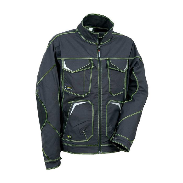 delovna jakna getafe 485 lime antracit cofra obnova