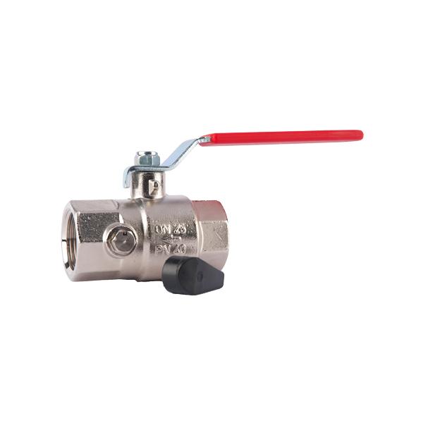 kroglicni ventil z izpustom kv obnova
