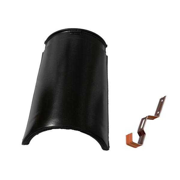 slemenjak s sponko tondach gladki 17 cm crn topdom