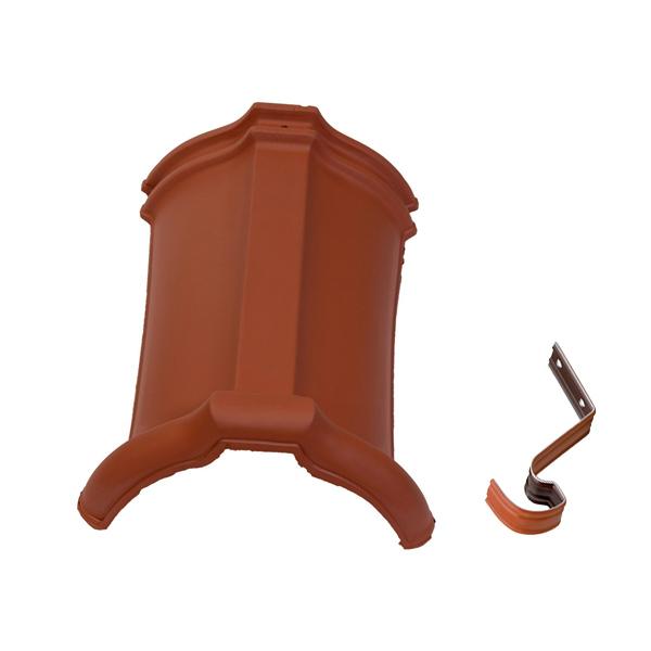 slemenjak s sponko tondach zarezni 17 cm rdec topdom