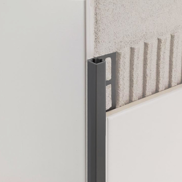 KVADRATEN PROFIL ZQP 10 PVC 270cm ANTRACITNO SIV PROFILPAS TOPDOM