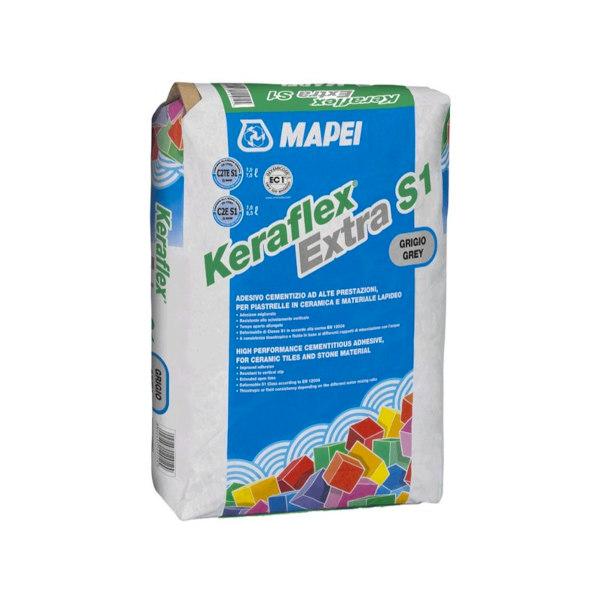 LEPILO ZA KERAMIKO KERAFLEX EXTRA S1 23kg MAPEI TOPDOM