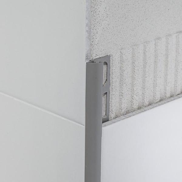 P PROFIL RE PVC 270cm PEPELNATO SIV PROFILPAS TOPDOM