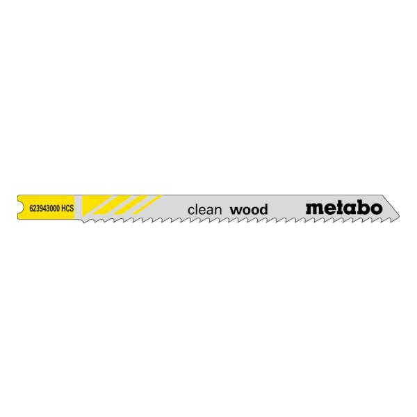 LIST ZA VBODNO ZAGO METABO CLEAN WOOD 2.5mm 5kos TOPDOM