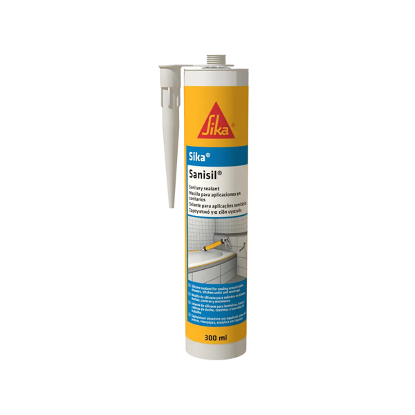 SIKA SANISIL 300ml SANITARNI SILIKONSKI KIT TRANSPARENT