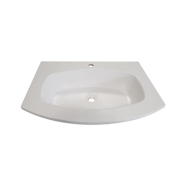 umivalnik armonia mineralni marmor 70 topdom