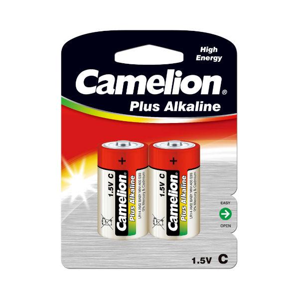 BATERIJE CAMELION 1.5V LR14 PLUS ALKALINE 2kos TOPDOM