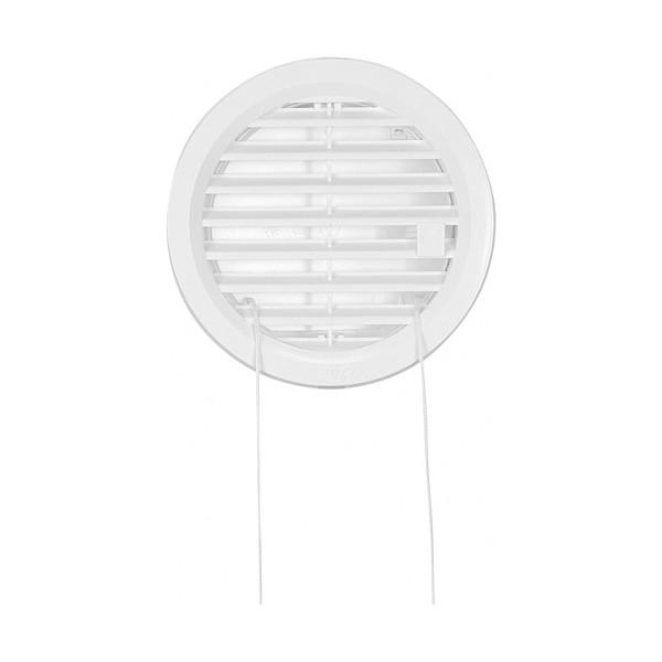 VGRADNI ZRACNIK Z VRVICO fi110mm PVC BEL TOPDOM0