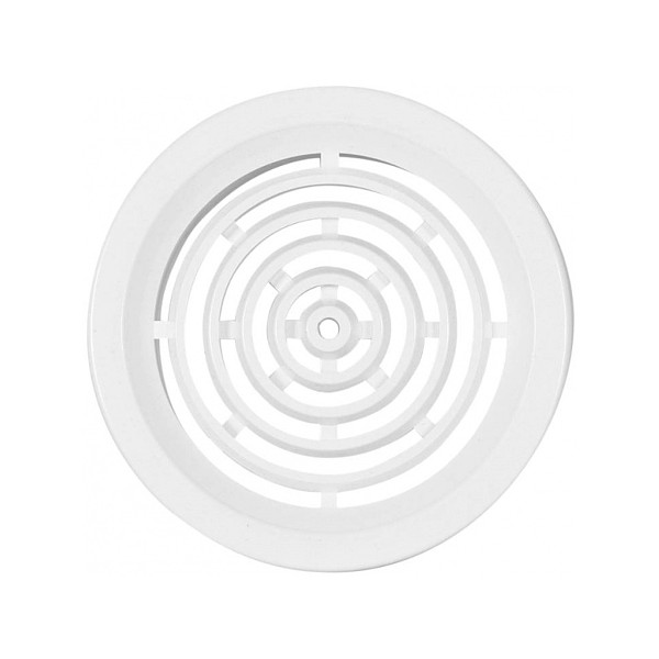 VGRADNI ZRACNIK fi50 PVC BEL 4kos TOPDOM