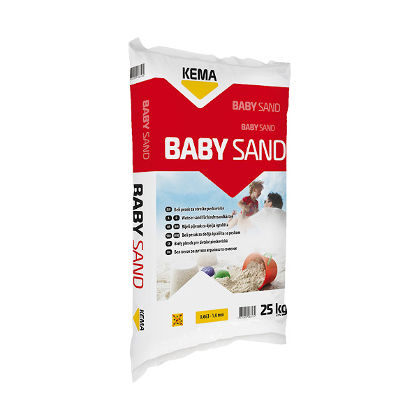 baby sand 25kg topdom