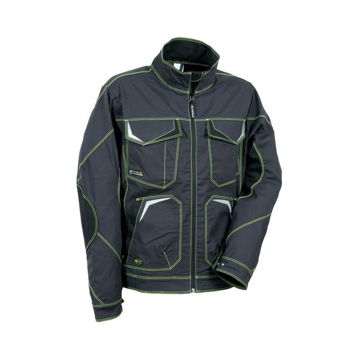 delovna jakna getafe 485 lime antracit cofra topdom