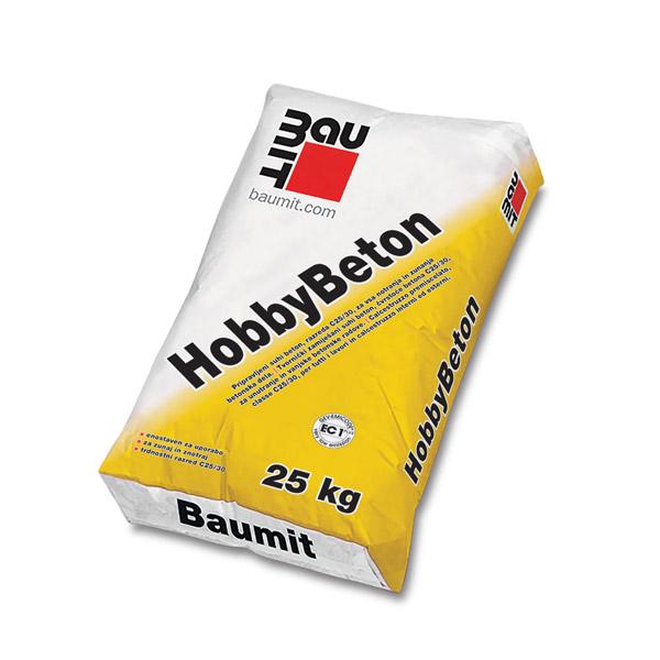 pripravljeni suhi beton baumit hobbybeton 25kg topdom