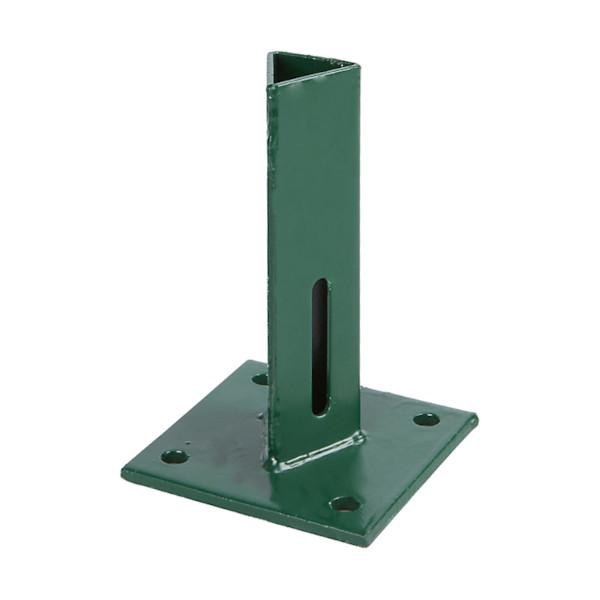 pritrditveni podstavek za steber zelen plastificiran topdom1